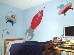 rocket bedroom accessories