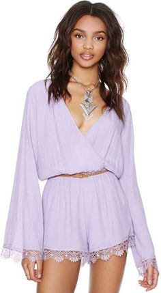 Nasty Gal Claudina Romper on shopstyle.com