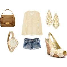 """""""Casual and Cute"""" by taylorratliff on Polyvore"""