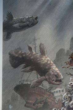 Coelacanth by Mark Schultz