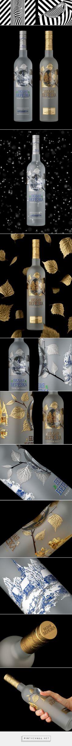 WHITE BIRCH Vodka packaging design by Yevgeny Razumov - http://www.packagingoftheworld.com/2016/10/white-birch-vodka-redesigned.html