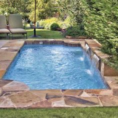 Having a pool sounds awesome especially if you are working with the best backyard pool landscaping ideas there is. How you design a proper backyard with a pool matters. Small Backyard Pools, Backyard Pool Landscaping, Backyard Pool Designs, Small Pools, Swimming Pools Backyard, Swimming Pool Designs, Landscaping Ideas, Acreage Landscaping, Spool Pool