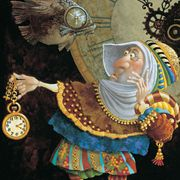 This links to a gallery of artwork by James C. Christensen, who is by far my favorite artist in the world.