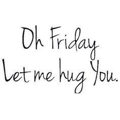 Friyay! Almost the weekend! ✨✨