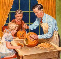 halloween in the 50s