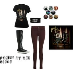 "Panic! At the Disco"" by amr3always on Polyvore 
