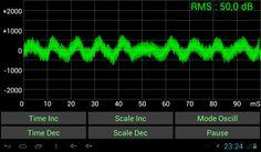 Son Oscilloscope- capture d'écran