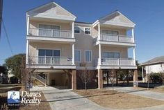 Surfside Beach Rental Beach Home: South Beach I (Twin) | Myrtle Beach Vacation Rentals by Dunes Realty