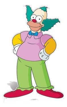 Krusty The Klown Lifesize Cardboard Cutout / Standee - The Simpsons