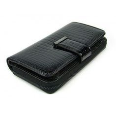 Velká dámská kožená peněženka s dárkovou krabičkou - peněženky AHAL Money Clip, Zip Around Wallet, Money Clips