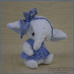 Лиза. Тедди-слоник. Миниатюра.