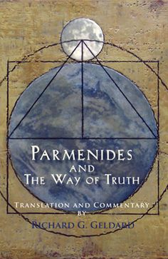 Parmenides was a philosopher, healer, and spiritual guide in fifth-century BC Elea, a Greek outpost on the western coast of Italy. Around 450 BC he and a young Socrates engaged in a debate on the nature of reality, later immortalized by Plato in The Parmenides, the dialogue that re-created that meeting. http://www.monkfishpublishing.com/products-page-2/philosophy/parmenides-and-the-way-of-truth/