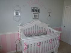 baby girl room pink and grey | Embellishments By Mary: Pink and Pretty Baby Girls Room