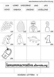 Disegni Parole Con Lettera U Words Word Search Puzzle