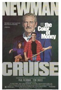 The Color of Money (1986)  Fast Eddie Felson teaches a cocky but immensely talented protégé the ropes of pool hustling, which in turn inspires him to make an unlikely comeback.