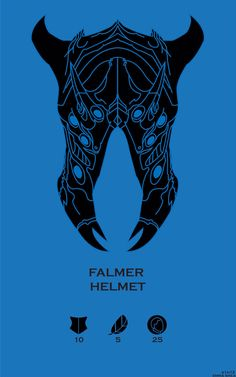 Skyrim Falmer Helmet by Emma Shea