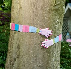 Simply Crochet 60 - Yarnbomb your patch with imaginative outdoor makes stitched in Lucy at Attic24's cheery cotton palette. Give a tree some serious love or yarn bomb a pal's garden with Rebecca Aldridge's chucklesome crochet idea.