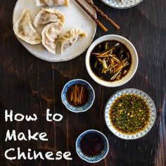 Four Chinese dumpling sauce recipes from northern to southern China. You won't go wrong with any of them!