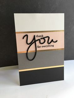Another card using the new YOU stamp/die set from Simon Says Stamp's new…