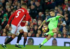 PL Manchester United vs Liverpool 1-1 - Philip Coutinho Manchester United, Liverpool, The Unit, Running, Sports, Hs Sports, Man United, Keep Running, Why I Run