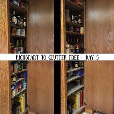 Kickstart to Clutter Free - Day 5 of Kathi Lipp's eCourse