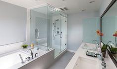 Steam shower Mr. Steam Bathroom Design By Erica Islas www.emiinteriordesign.com
