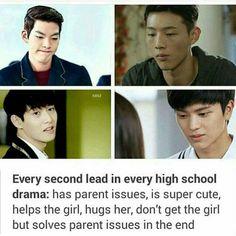 Second male lead in Kdrama High School Drama, Fandom Kpop, Chines Drama, Korean Drama Quotes, Drama Fever, Drama Funny, Kdrama Memes, Japanese Drama, Kim Jisoo