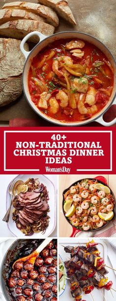 Christmas Dinner Recipes Easy is Among the Favorite Dinner Recipes Of Many People Around the World. Besides Easy to Make and Excellent Taste, This Christmas Dinner Recipes Easy Also Health Indeed. Nontraditional Christmas Dinner, Italian Christmas Dinner, Holiday Dinner, Xmas Dinner Ideas, Christmas Menu Ideas, Dinner Ideas For Guests, Unique Dinner Ideas, Christmas Recipes Dinner Main Courses, Traditional Christmas Food