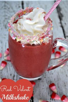 Red Velvet Milkshake by Princess Pinky Girl