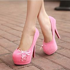Pink Ribbon Heels | Tsaa Heel