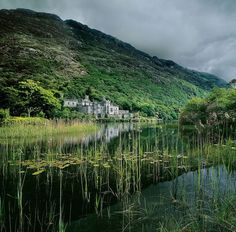 Kylemore Abbey, Co. Galway http://citified.blogspot.com.au/2012/03/take-me-away-23-dublin-ireland.html