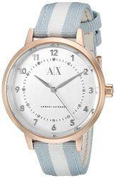 Armani Exchange Women's AX5366 Analog Display Analog Quartz Blue Watch