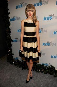 Love her dress!