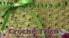 Crochê Tricô: Calcinha Verde