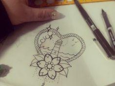 Little Cutie Lighthouse Love For Miss | Ruth Tattoo Ideas