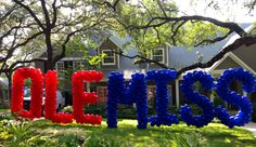 Celebrate your event in your front yard with a yard balloon! We design and deliver shapes, letters, and numbers throughout Austin and Houston. Football Parties, School Spirit, Austin Texas, Balloon Decorations, Birthday Candles, San Diego, Opportunity, Celebrations, Balloons