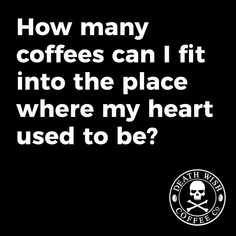 """1,527 Likes, 32 Comments - Death Wish Coffee Company (@deathwishcoffee) on Instagram: """"Hint: The limit does not exist."""""""