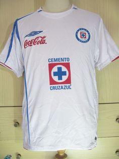 a93b3d7d0 CRUL AZUL UMBRO MEXICO LIGA MX 2006 AWAY FOOTBALL SHIRT SOCCER JERSEY  VINTAGE S