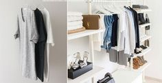 Whilst we love the idea of Marie Kondo-ing our wardrobe, sorting through everything you ownis a daunting task. But if you're in need of some closet organisation, we're here to help. With expert tips including what to chuck and the best ways to store your pieces, here's how to achieve your very own #wardrobegoals…