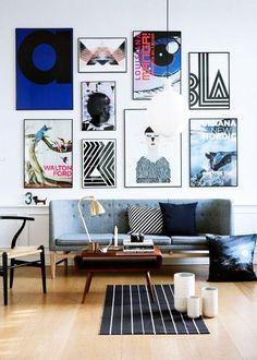 collage de cuadros moderno