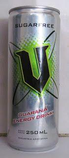 LATAS Y BOTELLAS COLECCIÓN: LATA V GUARANA ENERGY DRINK 250 ML , ORIGEN ARGE...