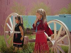 """""""Waiting for Grandmother"""" -- by Larry Riley"""