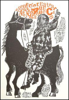 antonio frasconi : bestiary