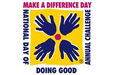 Make A Difference Day |Oct 27. I challenge you to Make a Difference in Someone's Day! Buy them a coffee, put their groceries in their car, hold a door, pay for the car behind you at McDonalds, help someone get their house ready for the storm, give 12 people a rose, mow someone's yard, strike up a conversation and then say thank you, OVERtip a waiter/waitress, thank Soldier, Marine, Airman or Sailor! Come on let's do this together! You will feel great after you do it!