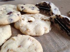 chocolate chip cookies mit überraschung | chocolate chip cookies with surprise ❤ | vegan | oreo cookies | oreo kekse | walnuss cookies | wal...