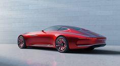 Der Vision Mercedes-Maybach 6 interpretiert klassisch-emotionale Design-Prinzipien auf extreme Weise neu.