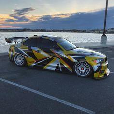 BMW E82 1 series slammed