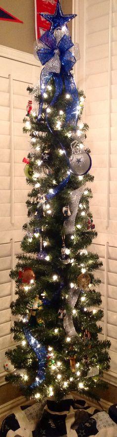Dallas Cowboys Christmas Tree   Dallas Cowboys!!   Pinterest ...