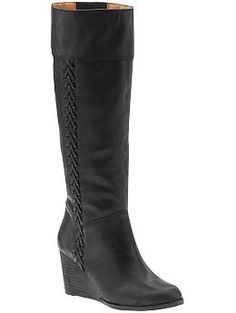 Lucky Wedge Boots on Piperlime Sale $145