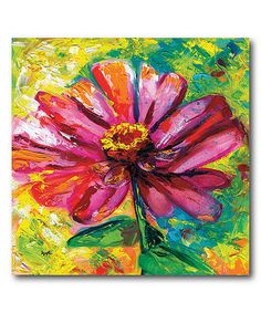 Another great find on #zulily! Zinnia Ampersand Gallery-Wrapped Canvas #zulilyfinds